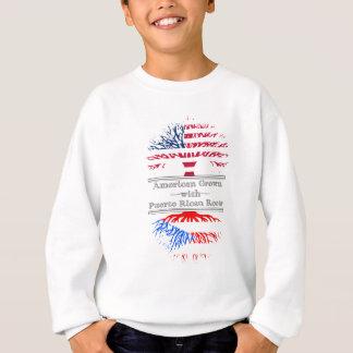 Americano crecido con las raíces puertorriqueñas sudadera