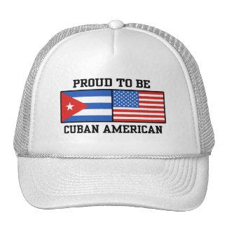 Americano cubano gorros