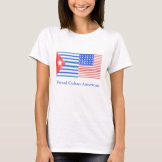 Americano cubano orgulloso playera