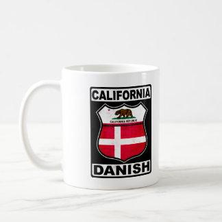 Americano danés de California Taza