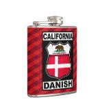 Americano danés Hipflask de California