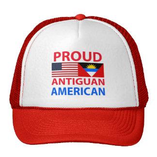 Americano de Antigua orgulloso Gorro De Camionero