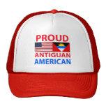 Americano de Antigua orgulloso Gorros