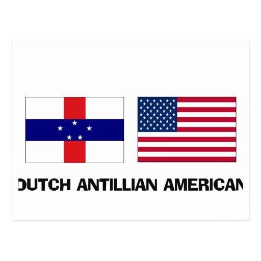 Americano de Antillian del holandés Postal