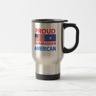 Americano de Guam orgulloso Taza