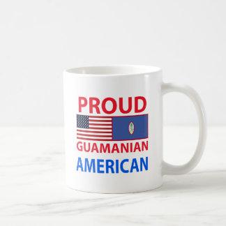Americano de Guam orgulloso Taza De Café