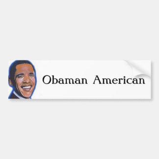 Americano de Obaman Pegatina Para Coche