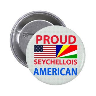 Americano de Seychelles orgulloso Pins