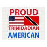 Americano de Trinidad y Tobago orgulloso Postal