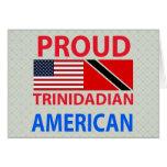 Americano de Trinidad y Tobago orgulloso Felicitaciones