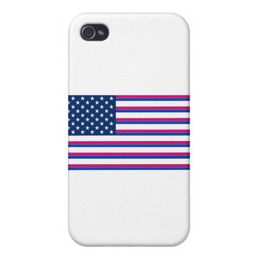 Americano del BI iPhone 4 Carcasa