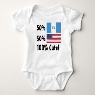 Americano del guatemalteco el 50% del 50% el 100% remeras
