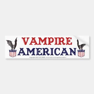 Americano del vampiro pegatina para auto