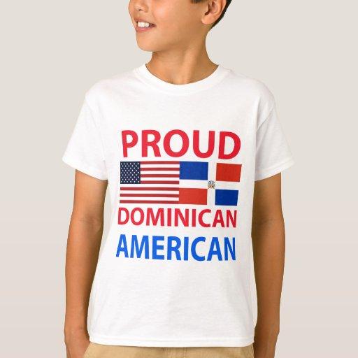 Americano dominicano orgulloso poleras