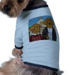 Americano Doxic Camisetas De Perrito