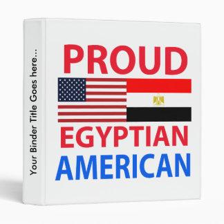 Americano egipcio orgulloso