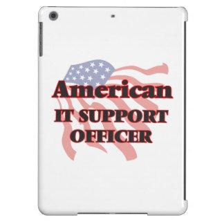 Americano él oficial de la ayuda funda para iPad air