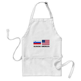 Americano esloveno delantal