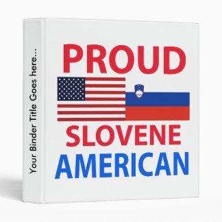 """Americano esloveno orgulloso carpeta 1"""""""