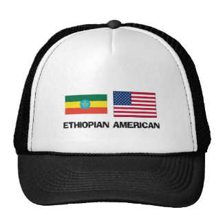 Americano etíope gorra