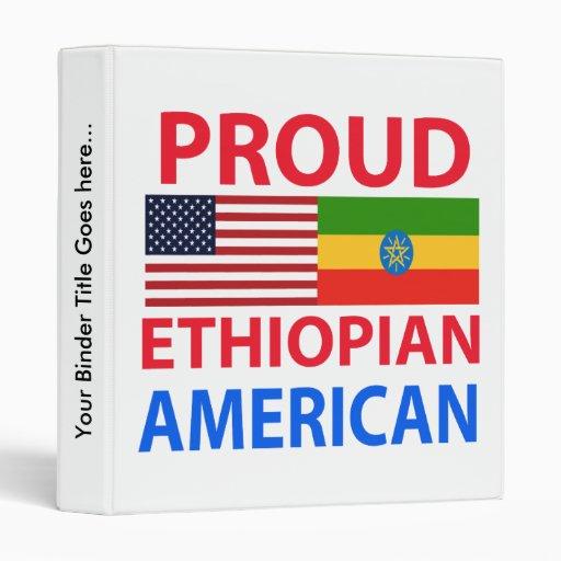 Americano etíope orgulloso