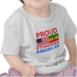 Americano etíope orgulloso camisetas