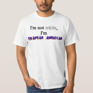 Americano europeo T Playeras