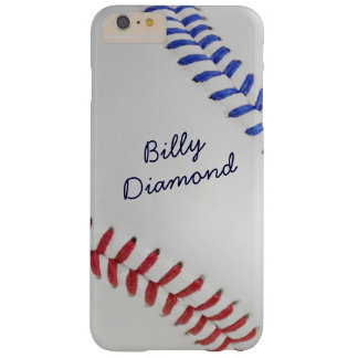 Americano fantástico del béisbol todo funda para iPhone 6 plus barely there