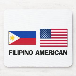 Americano filipino alfombrillas de ratones