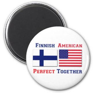 Americano finlandés - perfeccione junto imán redondo 5 cm