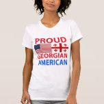 Americano georgiano orgulloso camisetas