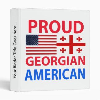 """Americano georgiano orgulloso carpeta 1"""""""