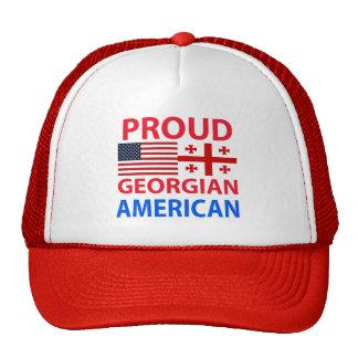 Americano georgiano orgulloso gorros