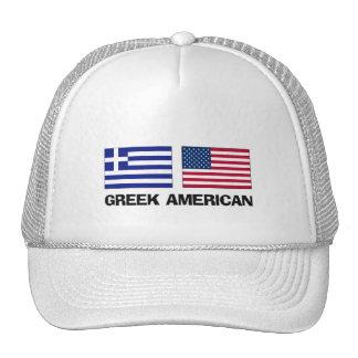 Americano griego gorra