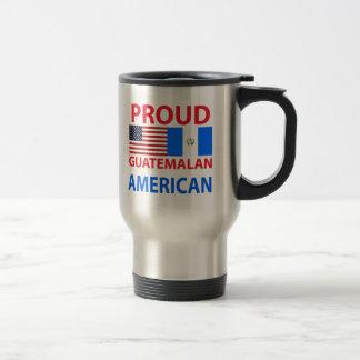 Americano guatemalteco orgulloso taza de viaje