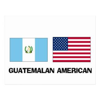 Americano guatemalteco tarjetas postales