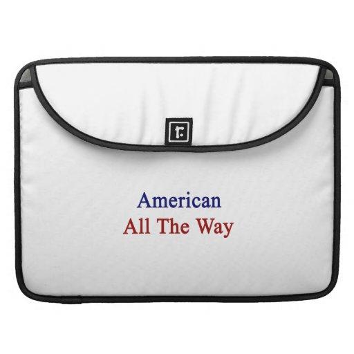 Americano hasta el final funda para macbook pro