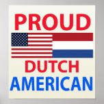 Americano holandés orgulloso impresiones