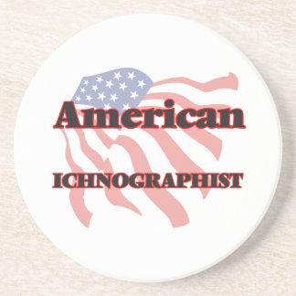 Americano Ichnographist Posavasos Diseño