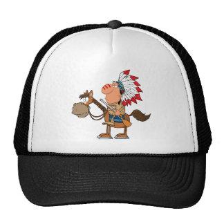Americano indio nativo gorro