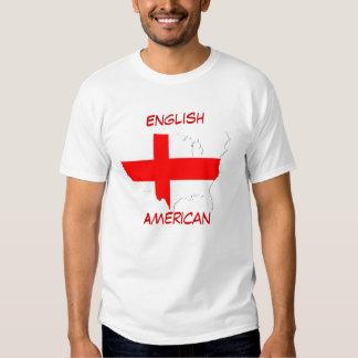 Americano inglés playera