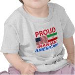 Americano iraní orgulloso camiseta