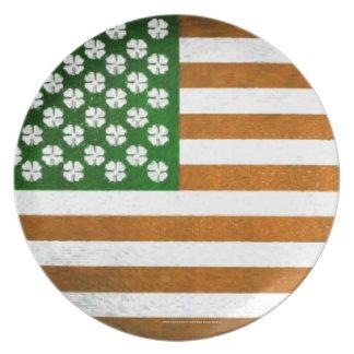 Americano irlandés 015 plato de comida