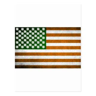 Americano irlandés 015 tarjeta postal