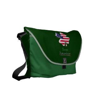Americano irlandés bolsa de mensajeria