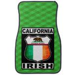 Americano irlandés de California Alfombrilla De Coche