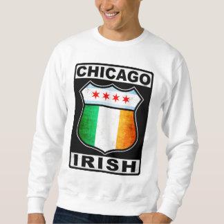 Americano irlandés de Chicago Sudaderas Encapuchadas
