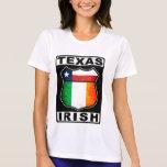 Americano irlandés de Tejas Camiseta