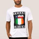 Americano irlandés de Tejas Camisetas