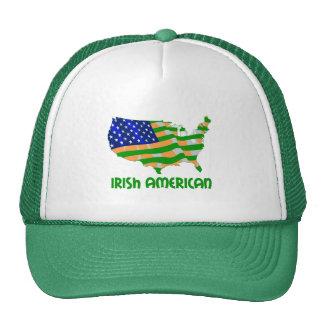 Americano irlandés gorras de camionero